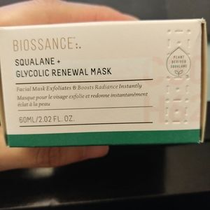 Other - Biossance Renewal Facial New